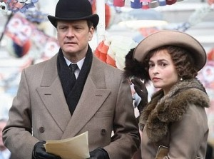 Colin Firth and Helena Bonham Carter star in The King's Speech