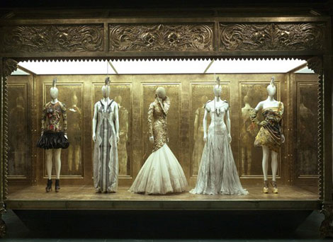 Alexander McQueen Savage Beauty exhibition at the MET