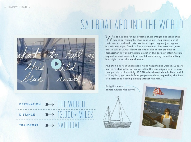 Sailboat around the world feature in Wayfare Magazine