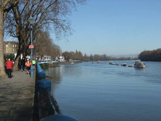 The Embankment in Putney
