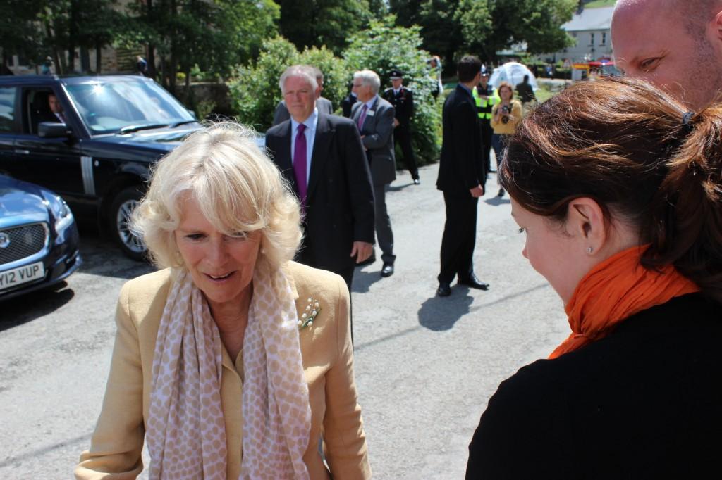 Karen meets Camilla, Duchess of Cornwall
