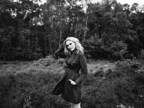 Sophie Dahls models Aubin & Wills 2012