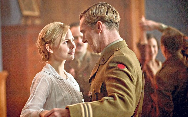 Valentine Wannop dances with Christopher Tietjens in Parade's End