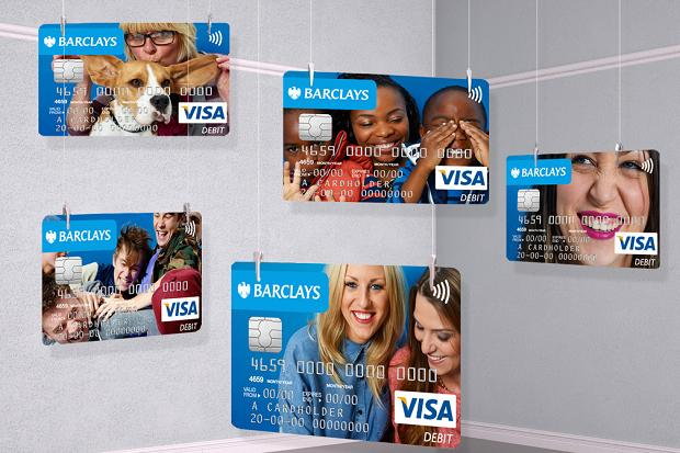 Barclays personalised card