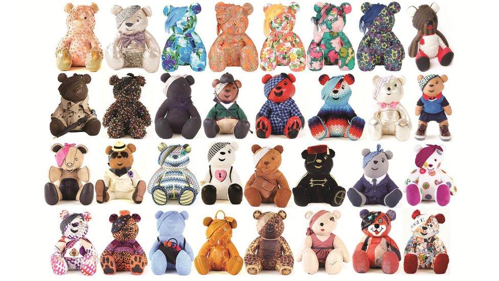 Designer Pudsey Bears 2012