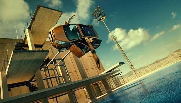 Ford's B Max advert Barcelona