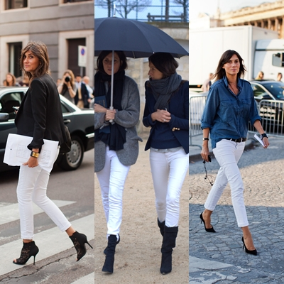 White Jeans During Winter - Xtellar Jeans