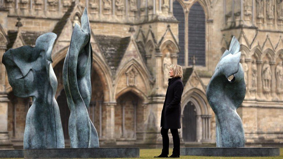 Helaine Blumenfeld exhibition Salisbury Cathedral