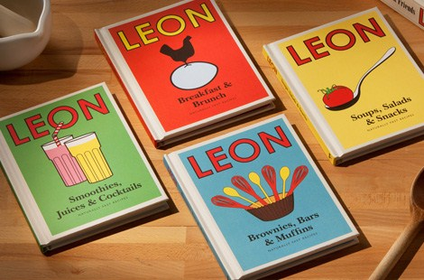 Little Leon cook books by restaurant chain Leon