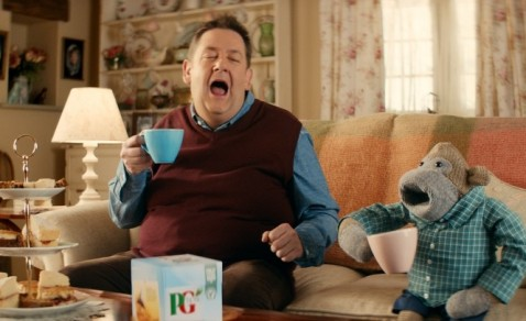 PG Tips 'The Great Get Together' advert
