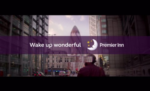WakeUpWonderful Premier Inn advert