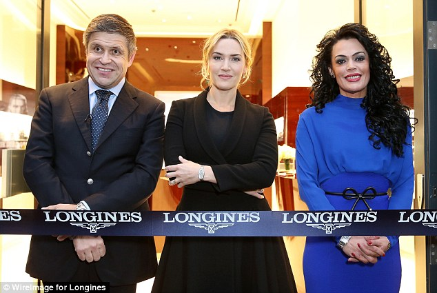 Kate Winslet at Longines Opening, London