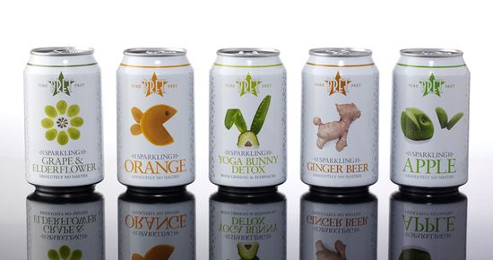 Pret a Manger canned drinks