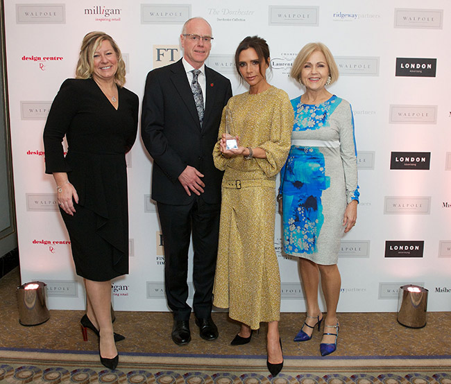 Victoria Beckham wins luxury brand of the year