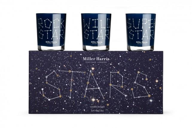 Miller Harris star candles